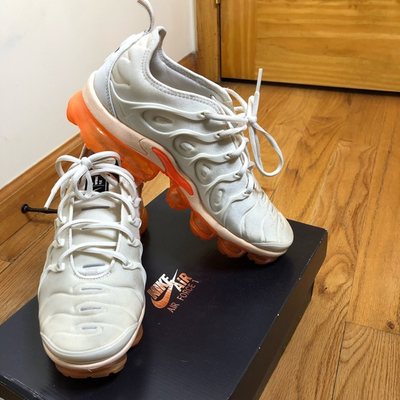 d834056851 Nike Shoes | Air Vapormax Plus Creamsicle Womens Size 9 | Poshmark